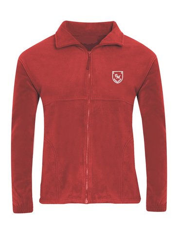 English Martyrs R.C. Primary School Red Fleece Jacket