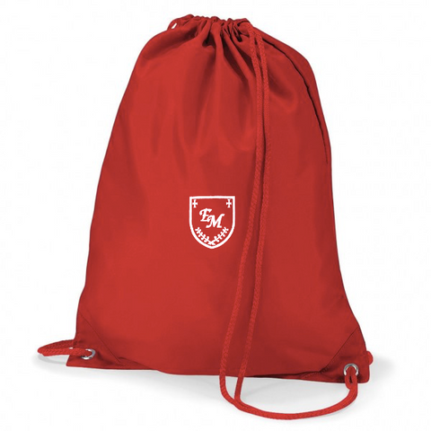 English Martyrs R.C. Primary School Red Gym Bag
