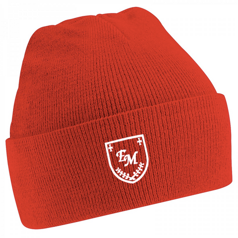 English Martyrs R.C. Primary School Red Knitted Hat