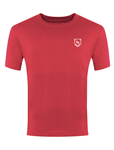 English Martyrs R.C. Primary School Red P.E. T-Shirt
