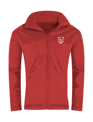 English Martyrs R.C. Primary School Red Showerproof Jacket