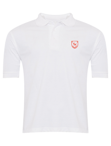 English Martyrs R.C. Primary School White Polo