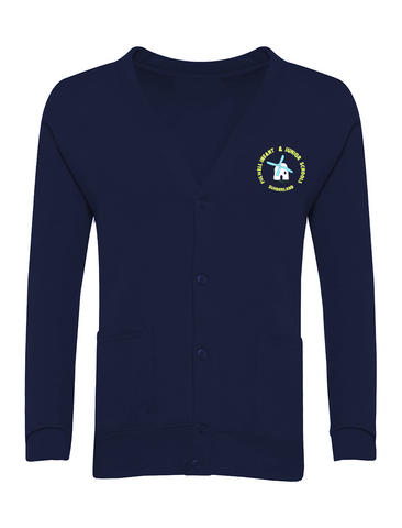 Fulwell Infant & Junior School - Sunderland Navy Cardigan