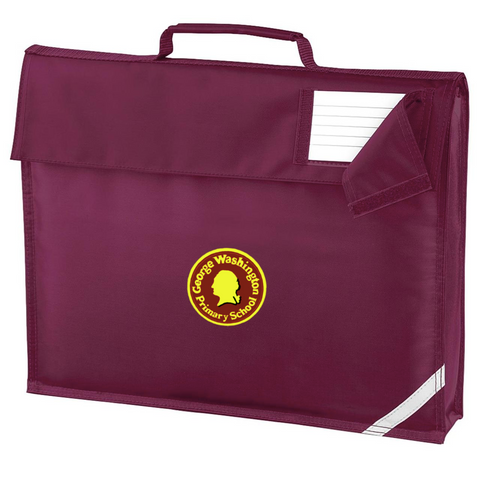 George Washington Primary School Maroon Book Bag