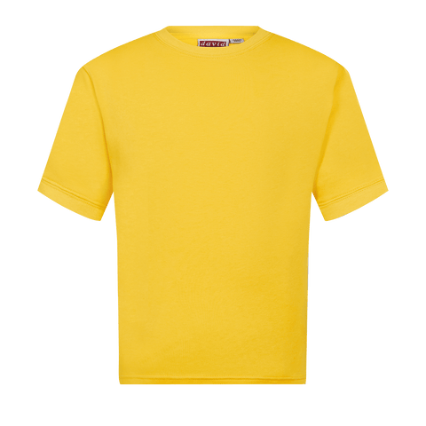 Usworth Colliery Nursery School Plain Yellow T-Shirt