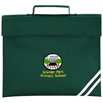 Grange Park Primary School Bottle Green Book Bag