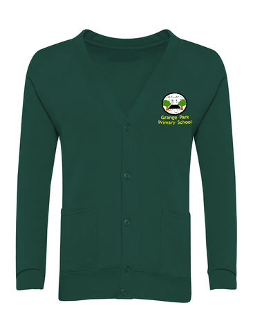 Grange Park Primary School Bottle Green Cardigan