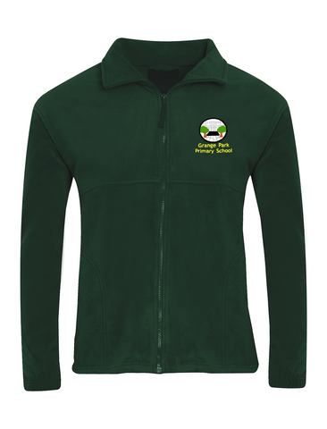 Grange Park Primary School Bottle Green Fleece Jacket
