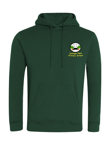 Grange Park Primary School Bottle Green Hoodie