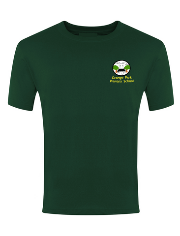 Grange Park Primary School Bottle Green P.E. T-Shirt