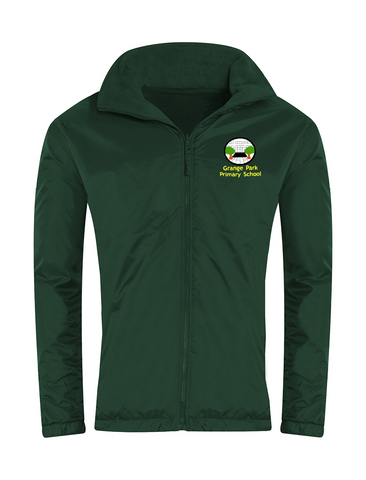 Grange Park Primary School Bottle Green Showerproof Jacket