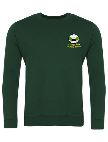 Grange Park Primary School Bottle Green Sweatshirt