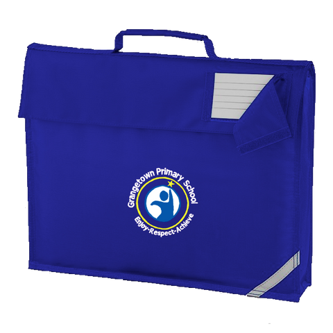 Grangetown Primary School Royal Blue Book Bag