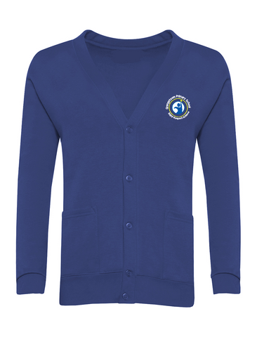 Grangetown Primary School Royal Blue Cardigan