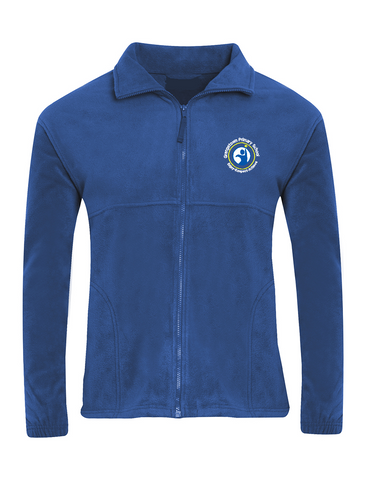 Grangetown Primary School Royal Blue Fleece Jacket