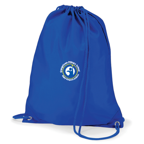 Grangetown Primary School Royal Blue Gym Bag