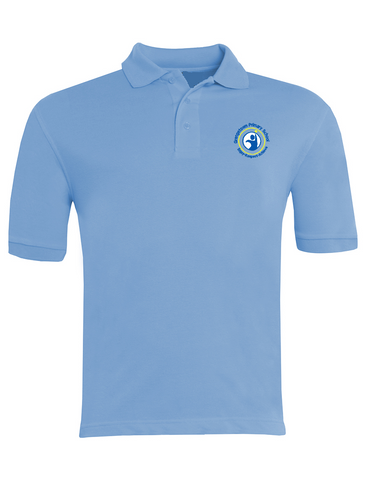 Grangetown Primary School Sky Blue Polo