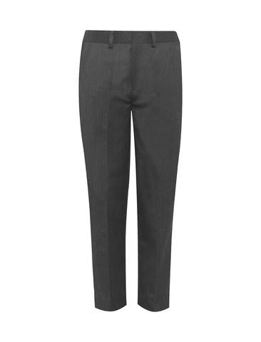 Boy's Grey Pull Up Trousers
