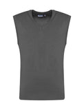 Grey V-Neck CKL Tank Top