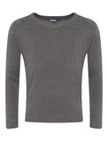 Grey V-Neck CKL Jumper
