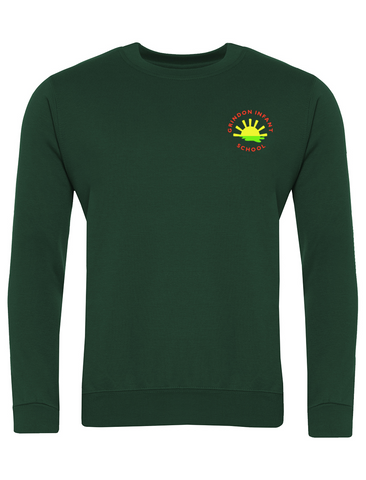 Grindon Infant School Bottle Green Sweatshirt