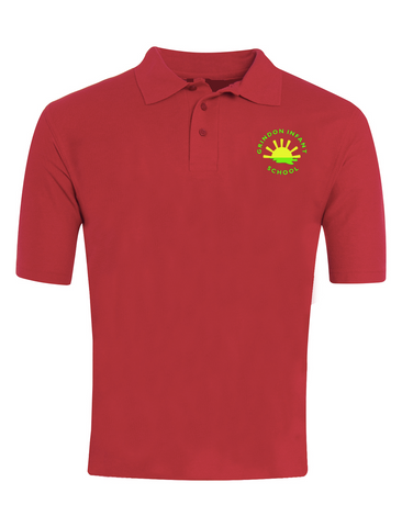Grindon Infant School Red Polo