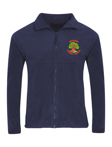 Hesleden Primary School Navy Fleece Jacket