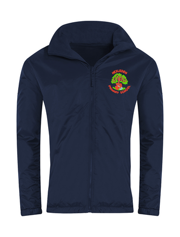 Hesleden Primary School Navy Showerproof Jacket