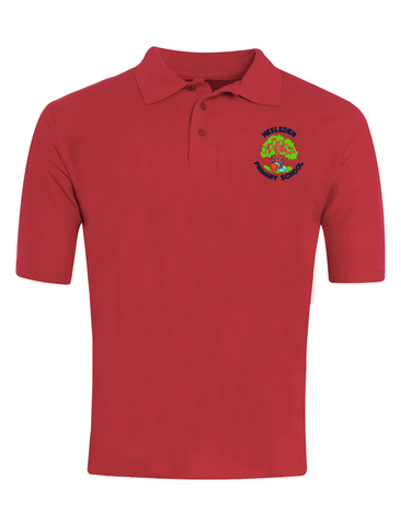 Hesleden Primary School Red Polo