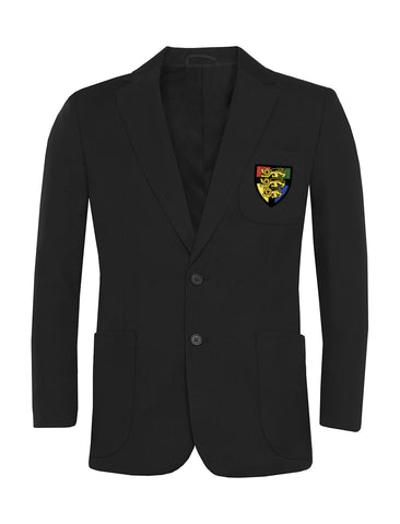 Hetton School Boys Black Blazer