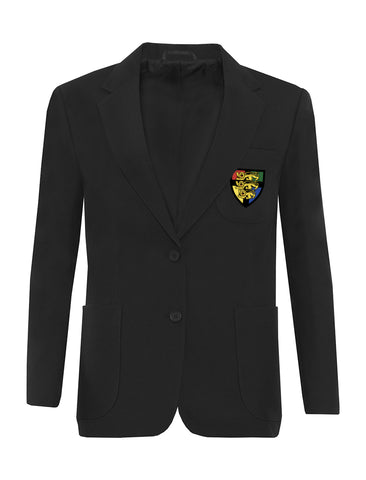 Hetton School Girls Black Blazer
