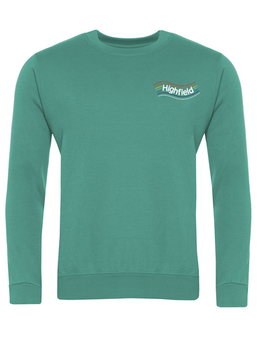 Highfield Academy Emerald Sweatshirt (Year 5 & 6)