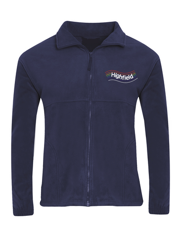 Highfield Academy Navy Fleece Jacket