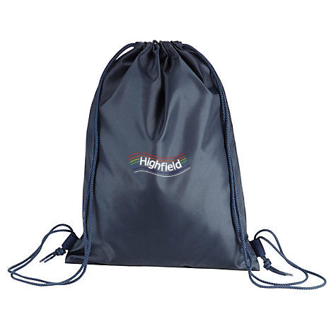 Highfield Academy Navy Gym Bag