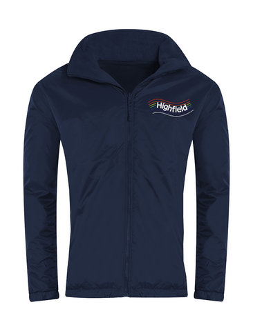 Highfield Academy Navy Showerproof Jacket