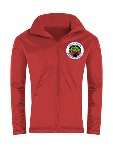 Holley Park Nursery Academy Red Showerproof Jacket