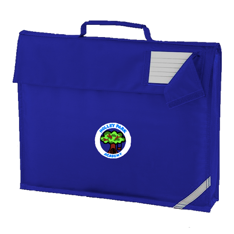 Holley Park Academy Royal Blue Book Bag