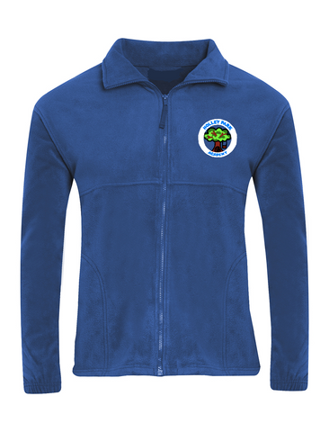 Holley Park Academy Royal Blue Fleece Jacket