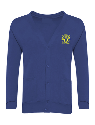 Howletch Early Years Nursery Royal Blue Cardigan