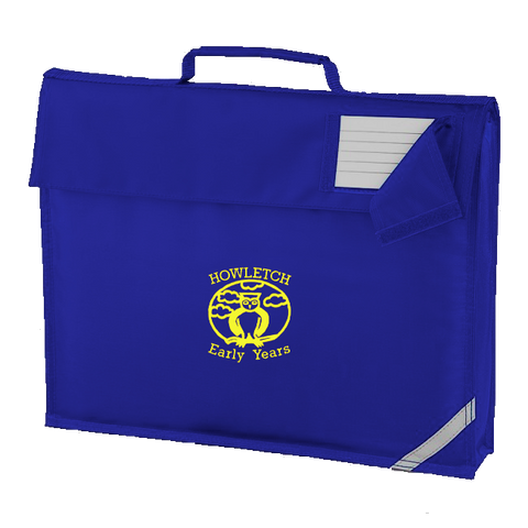 Howletch Early Years Nursery Royal Blue Book Bag