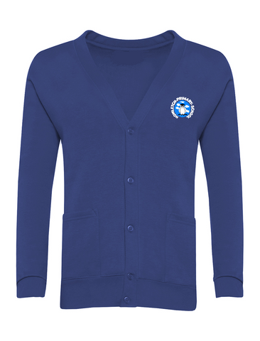 Howletch Lane Primary School Royal Blue Cardigan