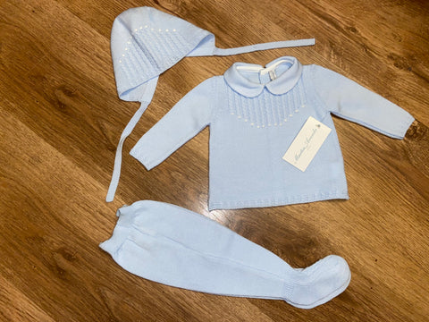 Martin Aranda 3 Piece Baby Blue Set (004-10004)