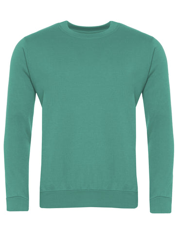 Valley Road Community Primary School Emerald Sweatshirt (Year 5 & 6)