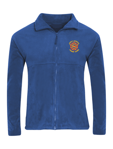 John F Kennedy Primary School Royal Blue Fleece Jacket