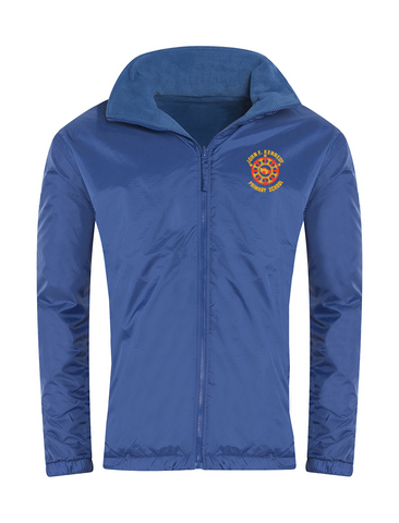 John F Kennedy Primary School Royal Blue Showerproof Jacket