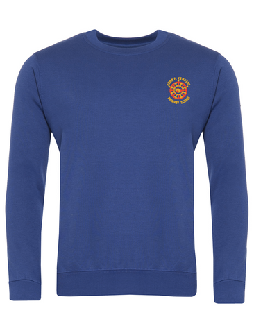 John F Kennedy Primary School Royal Blue Sweatshirt