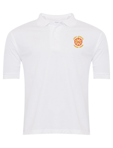 John F Kennedy Primary School White Polo