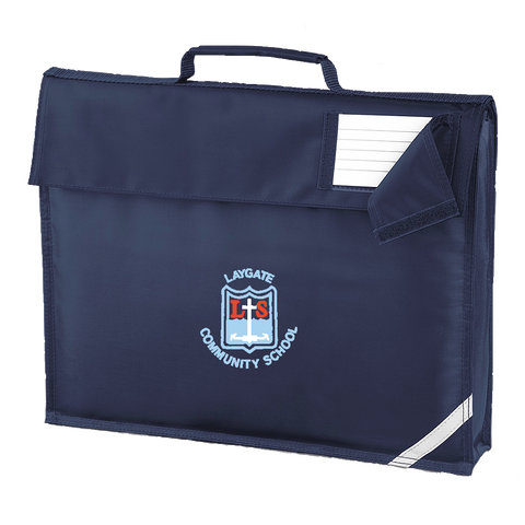 Laygate Community School Navy Book Bag