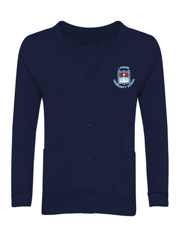 Laygate Community School Navy Cardigan