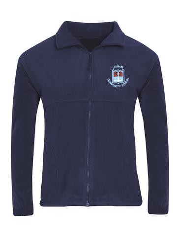 Laygate Community School Navy Fleece Jacket